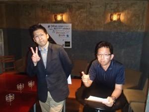 私(左)と四宮さん(右・株式会社ジョイゾー)