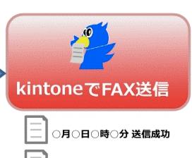 kintoneでFAXを送信してみた