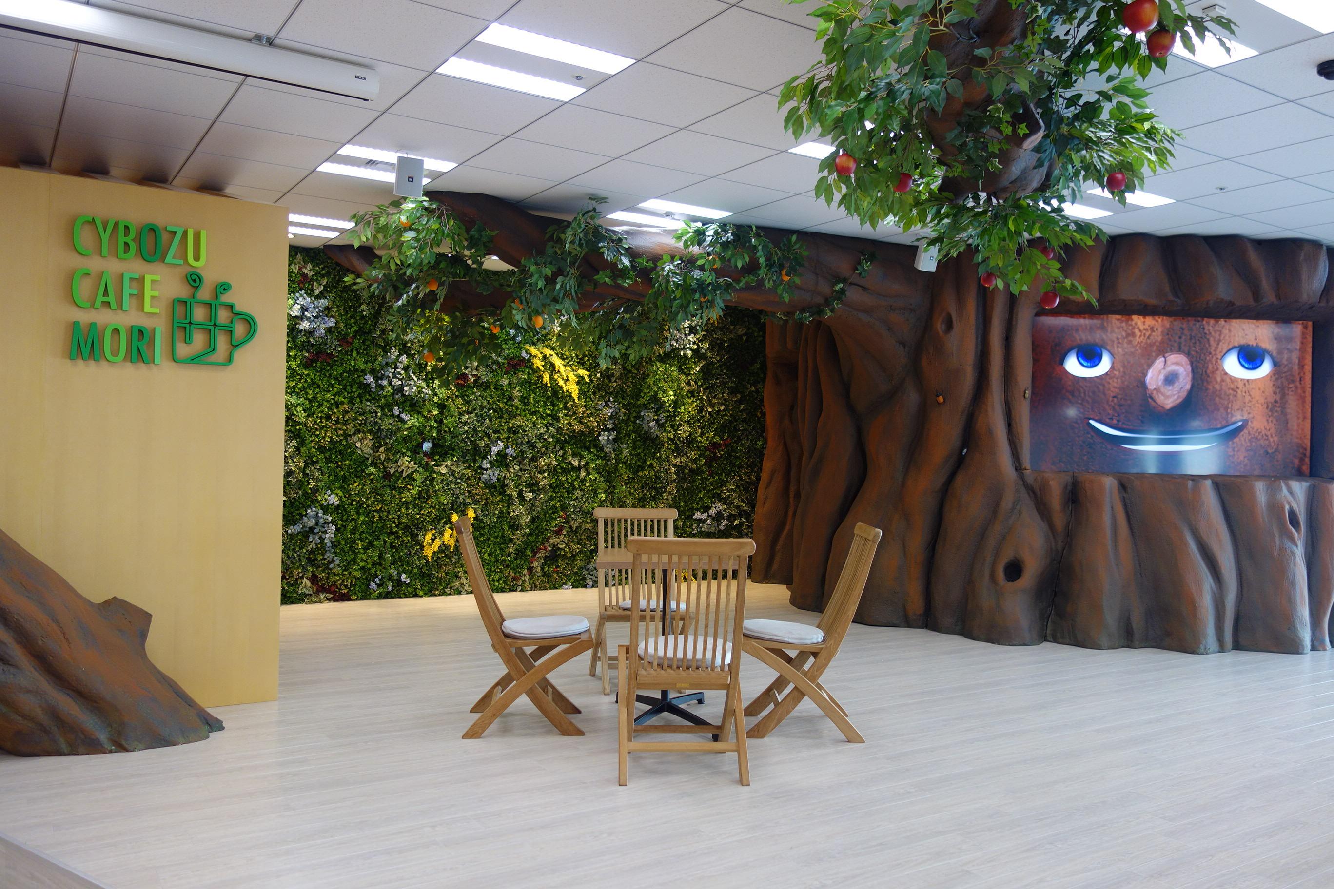 森のカフェ、かわいい