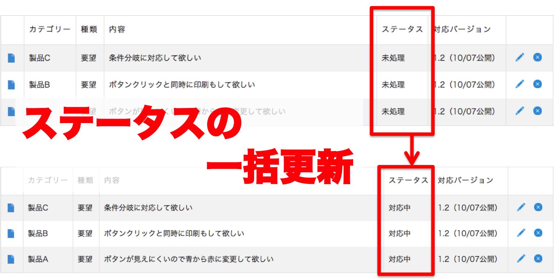【ATTAZoo】ステータス更新+でステータスの一括更新
